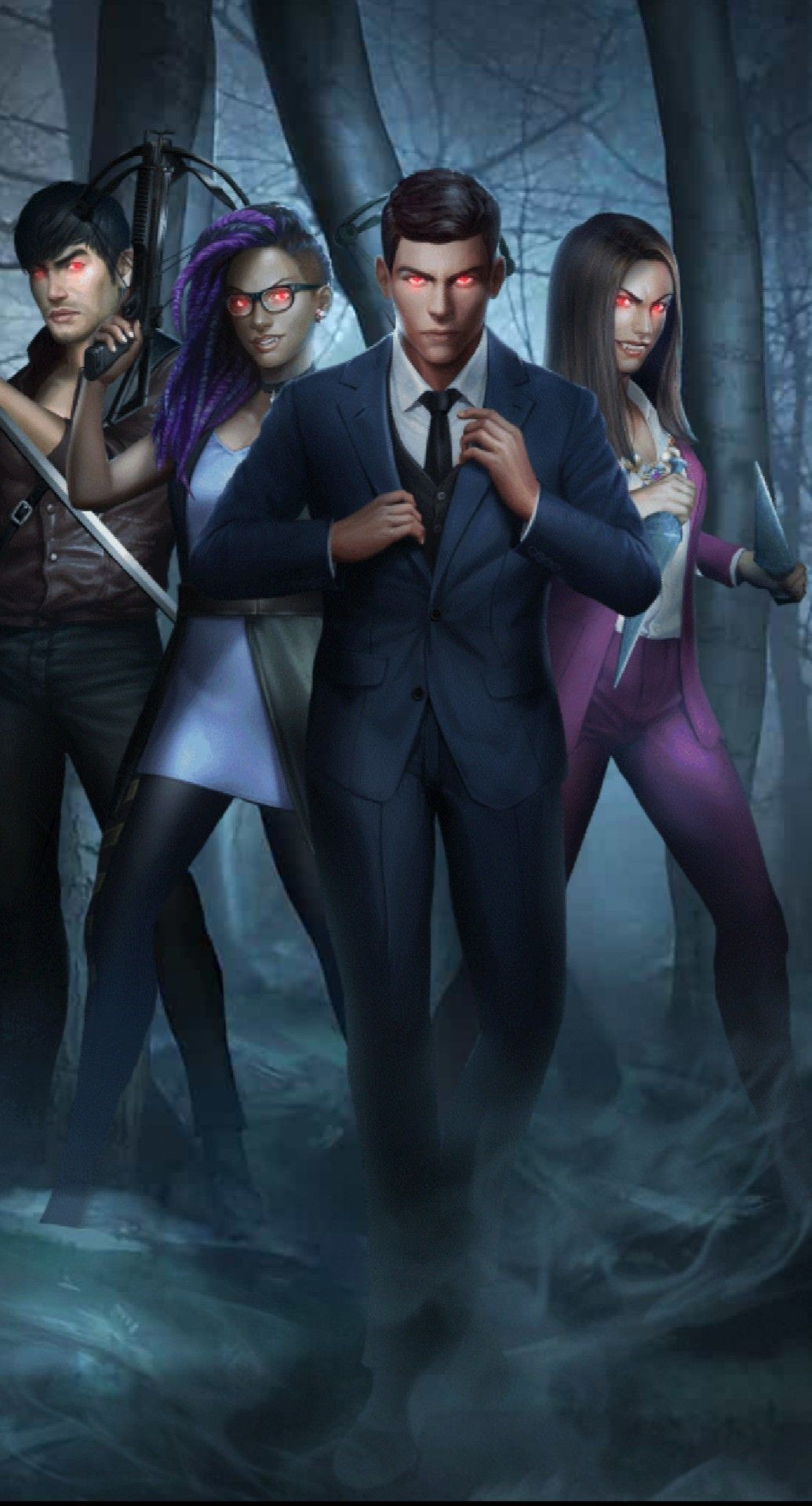 Bloodbound: Jax Matsuo, Lily Spencer, Adrian Raines, Kamilah