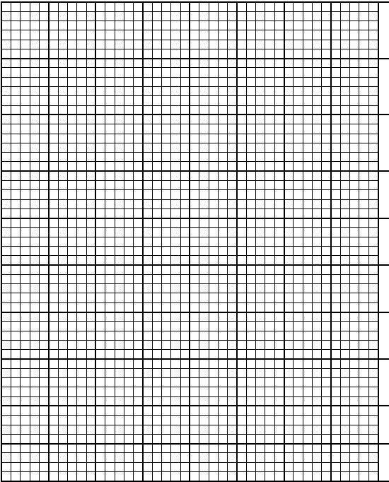 Printable Blank Graph Paper Free Graph Paper Template Printable - math graph paper