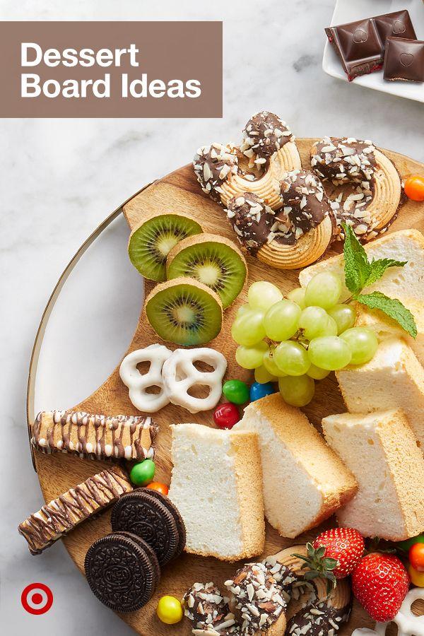 Find easy charcuterie board ideas for a crowd-pleasing dessert, breakfast or brunch menu.