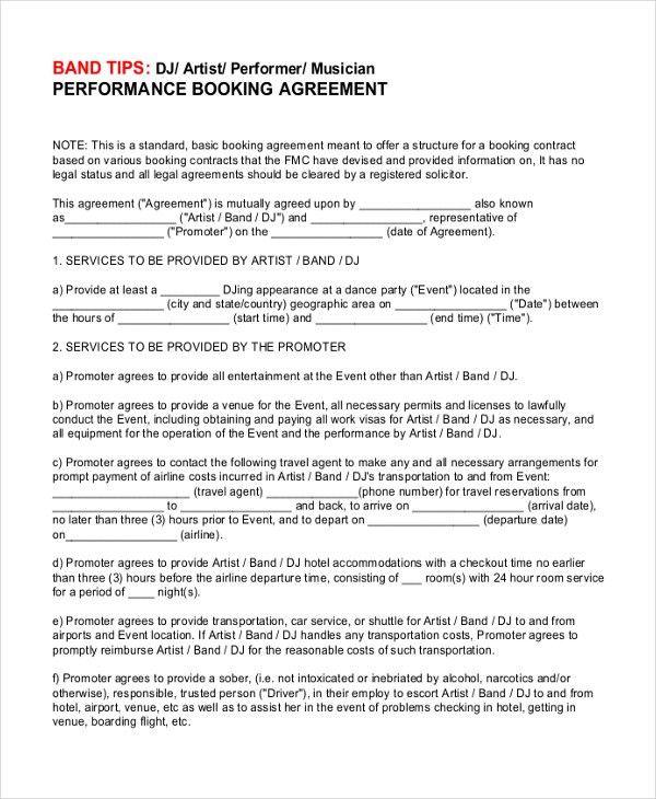 Doc#585610 Sample Vendor Contract u2013 10 Vendor Agreement - catering contract template
