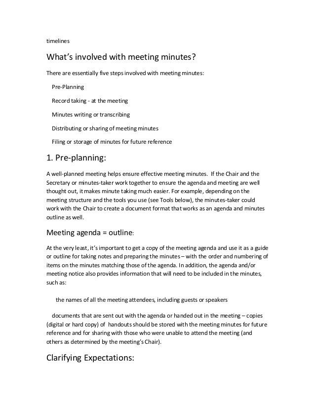 sample school meeting minutes template minute writing format 28