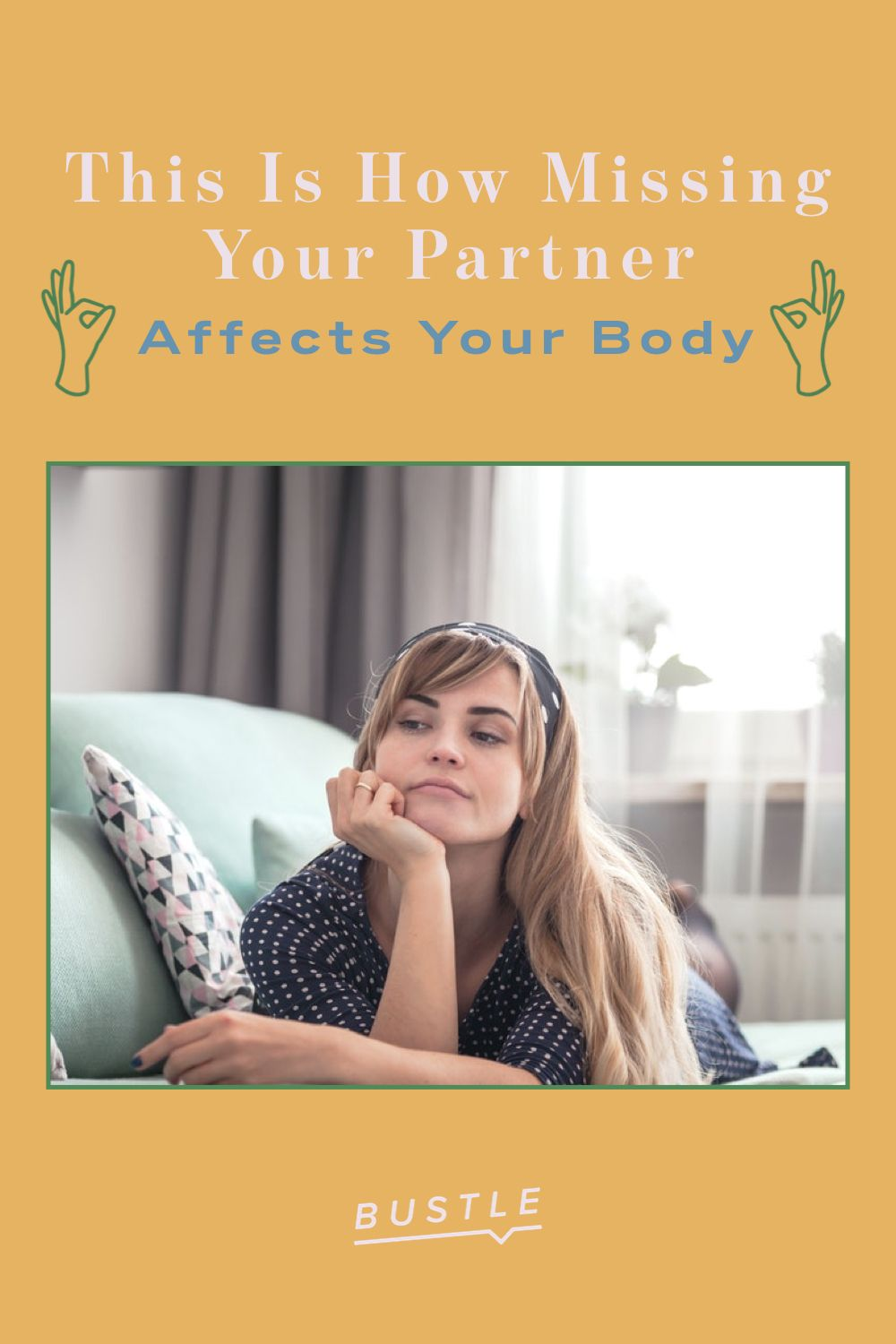 This Is How Missing Your Partner Affects Your Body
