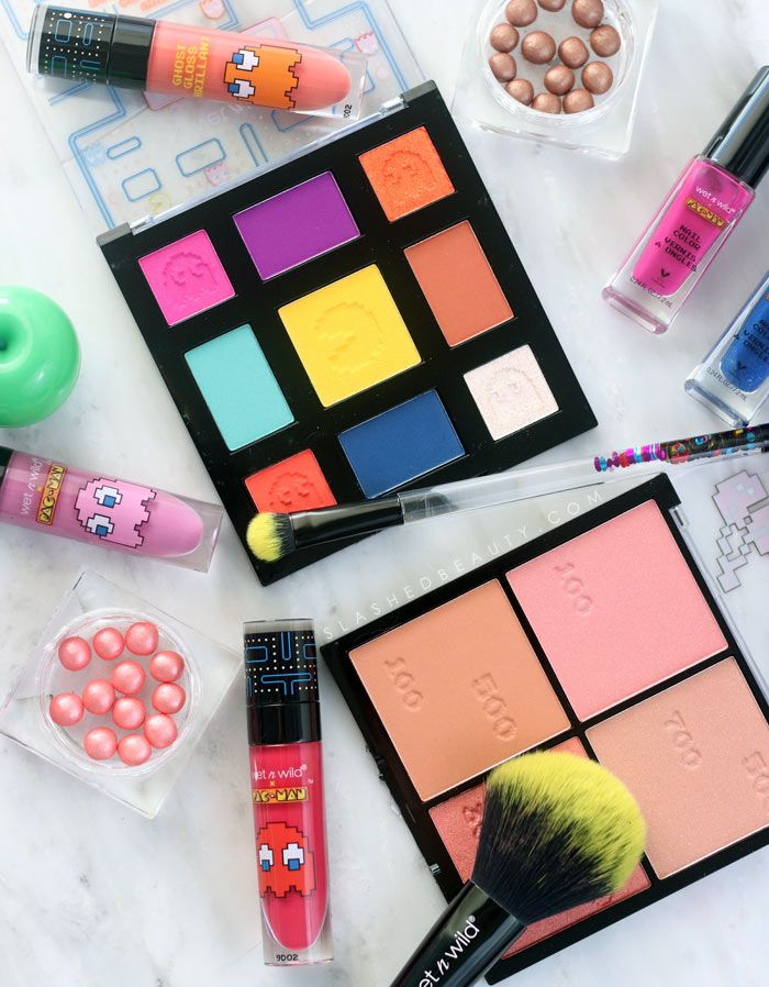 Take a closer look at the new limited edition wet n wild x Pacman collection. See swatches and find out if this is worth picking up!
