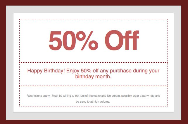 microsoft word birthday coupon template