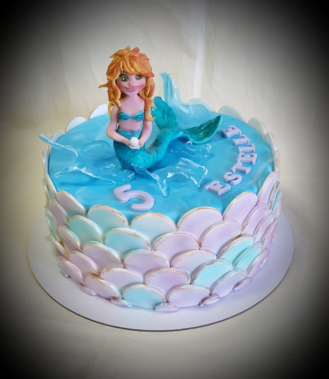 kuchen meerjungfrau