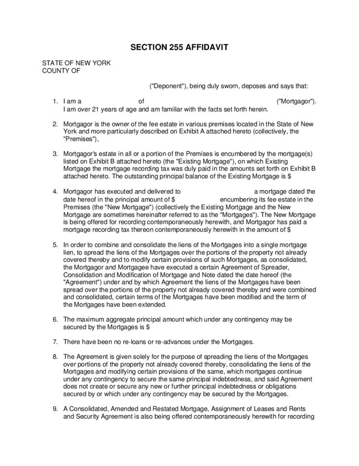 Sample Mortgage Contract Sample Mortgage Agreement Template 9 - sample security agreement