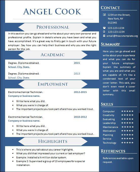 Sample Creative Resume 49 Creative Resume Templates Unique Non
