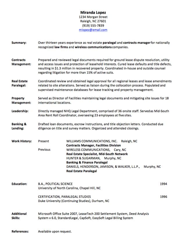 Job history resumes good summary for resume best statement example