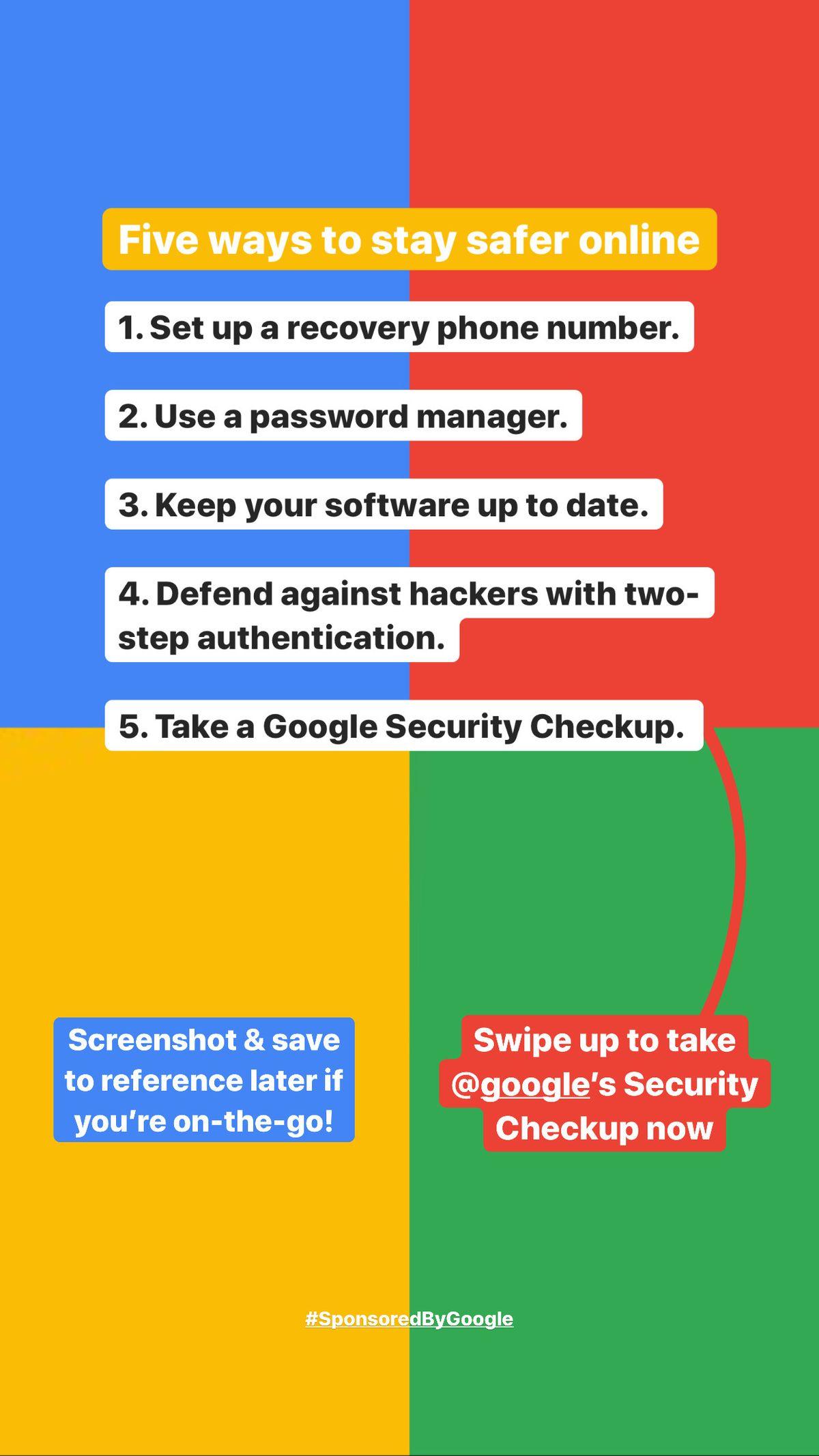 Stay Safer Online