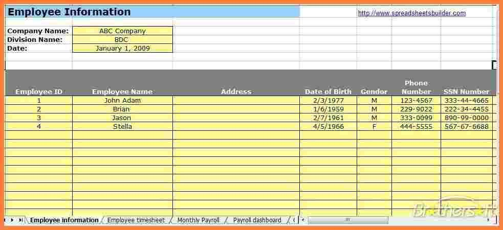 Microsoft Excel Payroll Template How To Prepare Payroll In Excel - excel templates for payroll