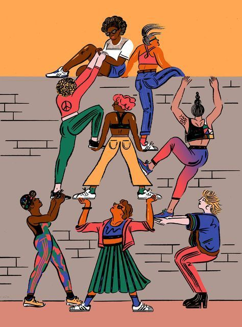 Here are 31 ways (yes 31!) you can be an ally this International Women's Day. (Paid for by adidas)