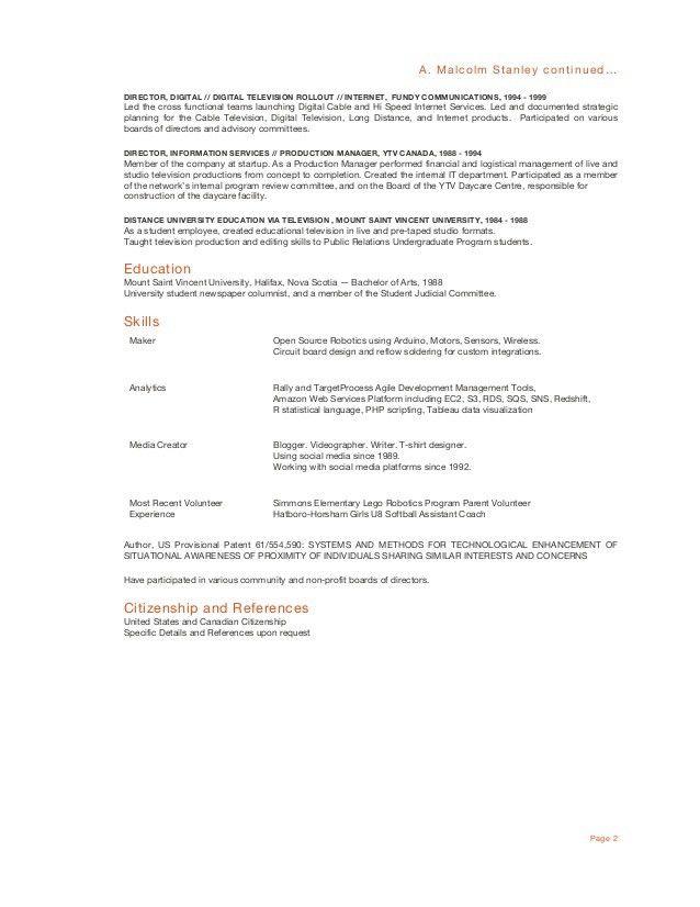 columnist resume node2002-cvresumepaasprovider