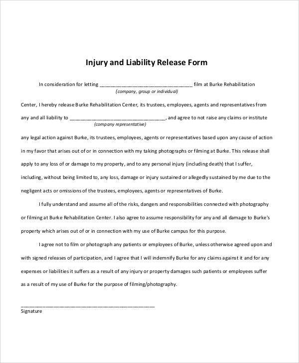 ... Liability Release Letter Lien Release Form Montana Lien Forms   Letter  Of Release Of Liability ...