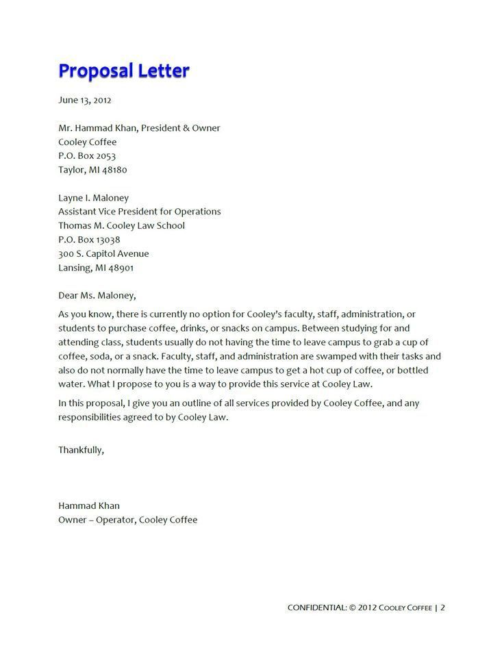 Business Project Proposal Format Sample Business Proposal - sample catering proposal template