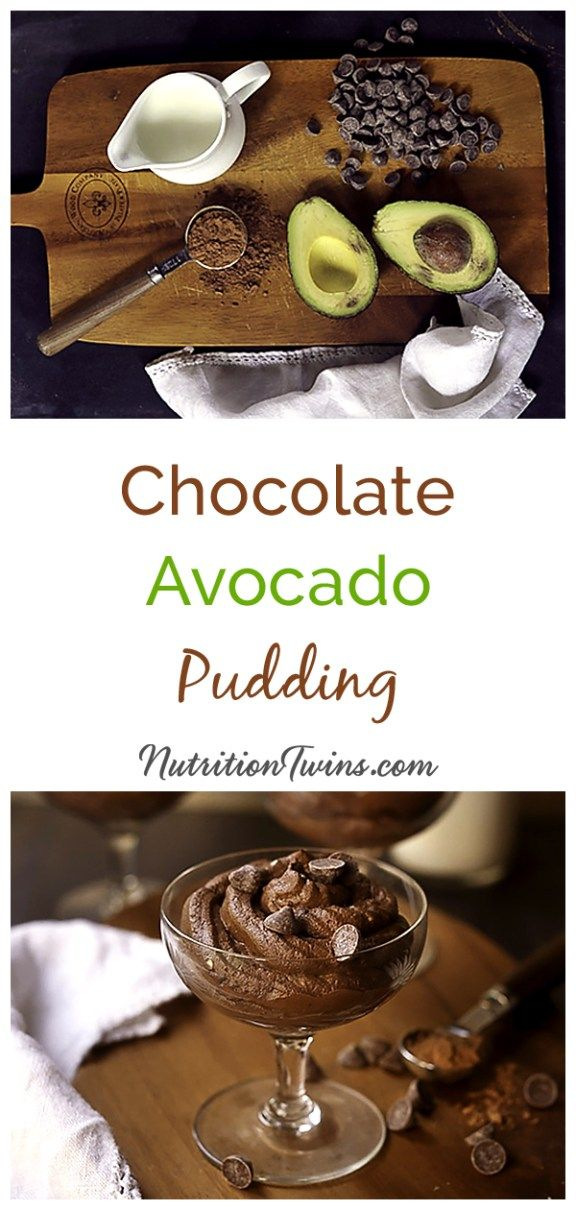 Chocolate Avocado Keto Pudding Recipe | Only 87 Calories | Healthy, Easy snack or dessert | Paleo, Keto Vegan, Gluten-free, Dairy Free| Monounsaturated fat may help with weight loss and belly fat | For Nutrition & Fitness Tips & RECIPES please SIGN UP for our FREE NEWSLETTER www.NutritionTwins.com
