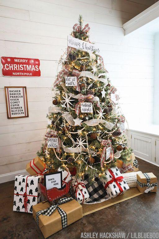christmas tree decorating ideas 2019