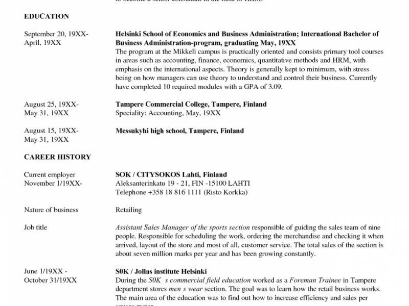 hr resume objective lukex entry level hr resume - Entry Level Resume Objective Statements
