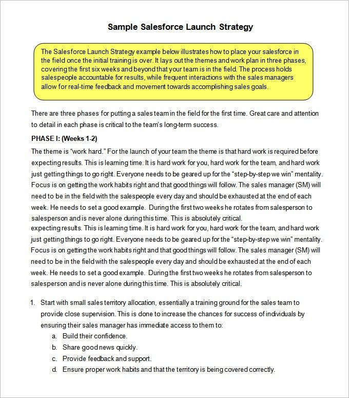 Sample Of Sales Plan Sample Sales Plan Template 17 Free Documents - sample sales plan