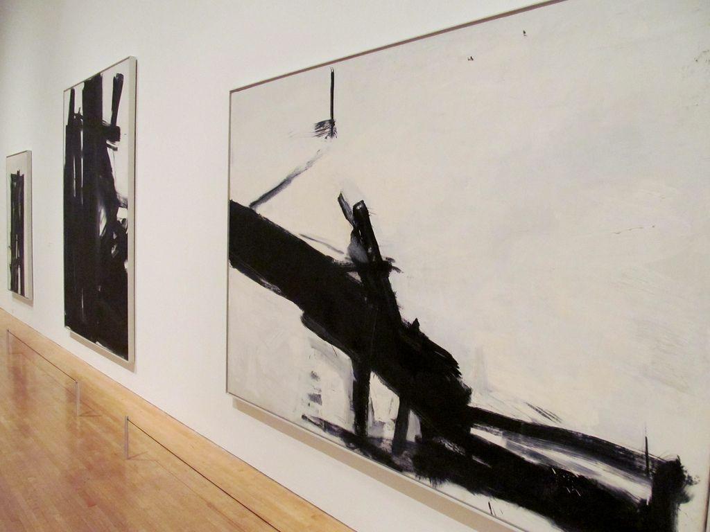 Franz Kline   Monitor, 1956. Oil on canvas (1910-1962) MOCA …   rocor   Flickr