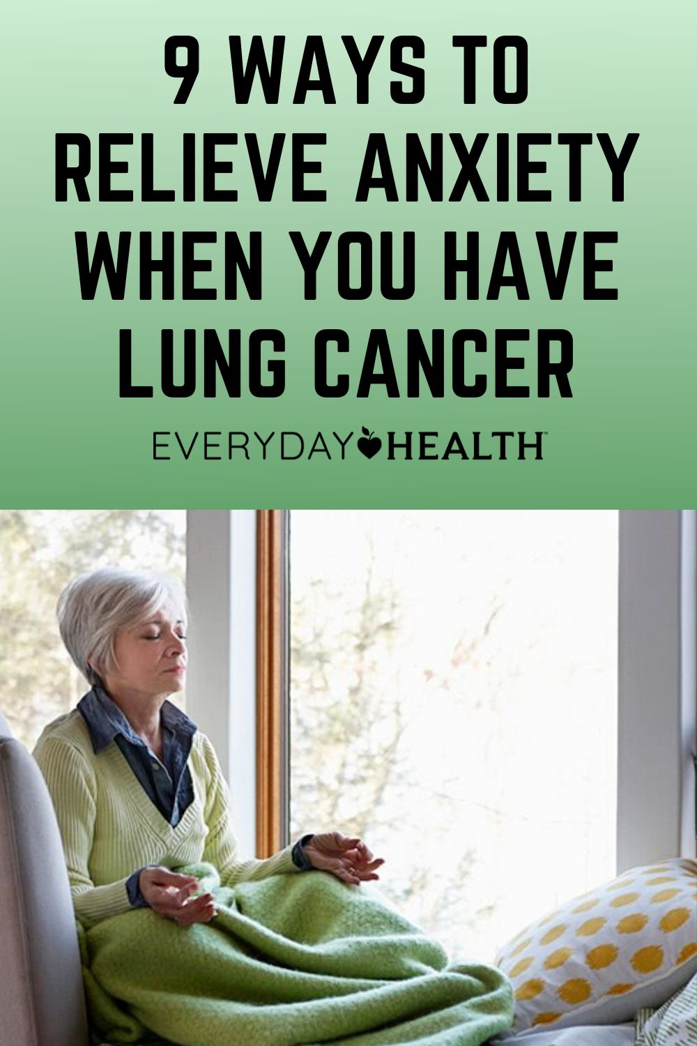 9 Ways to Relieve Anxiety When You Have Metastatic Non–Small Cell Lung Cancer