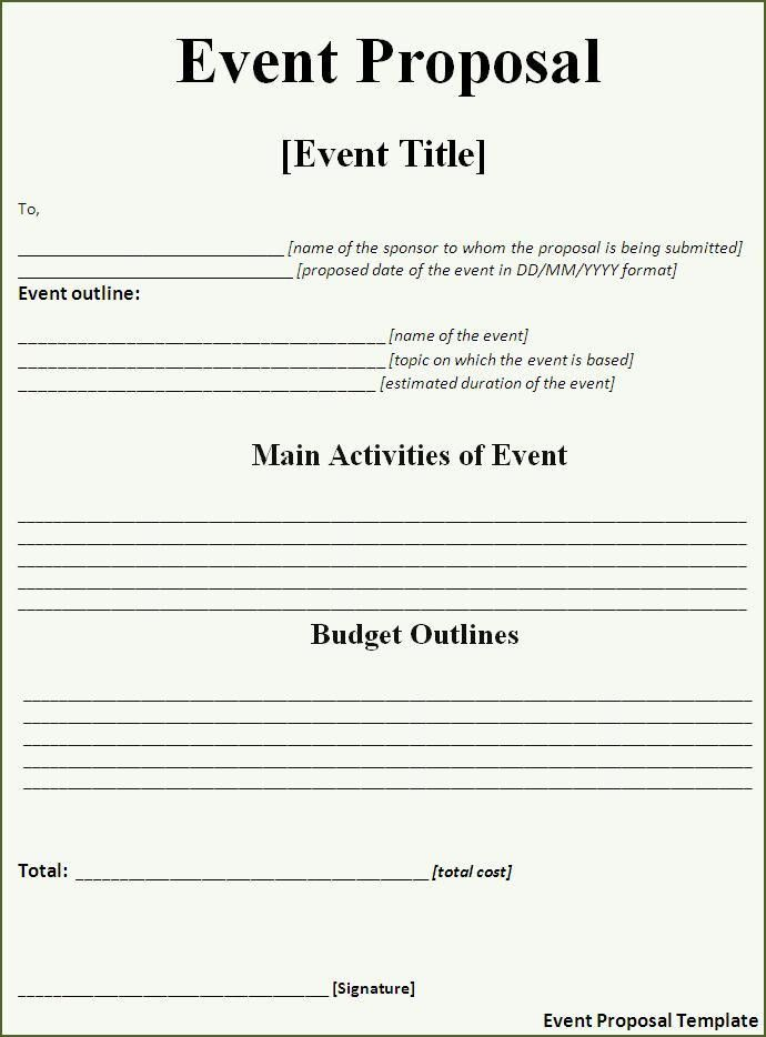 free event planner contract template