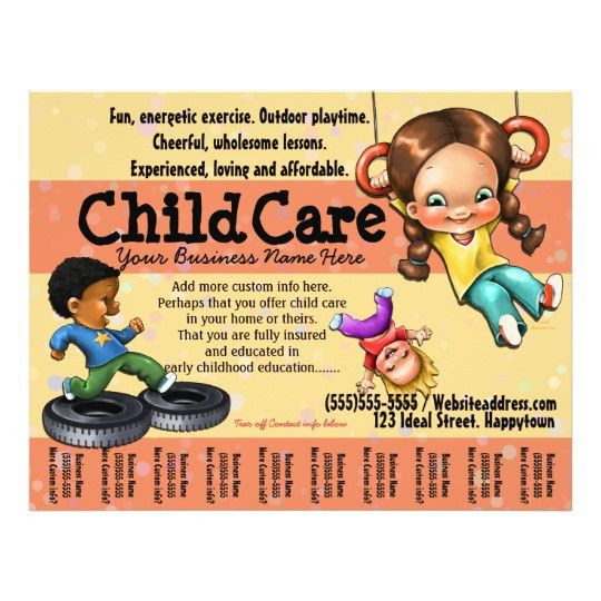 Customizable Flyers Free Customizable Medical Doctor Flyer - daycare flyer