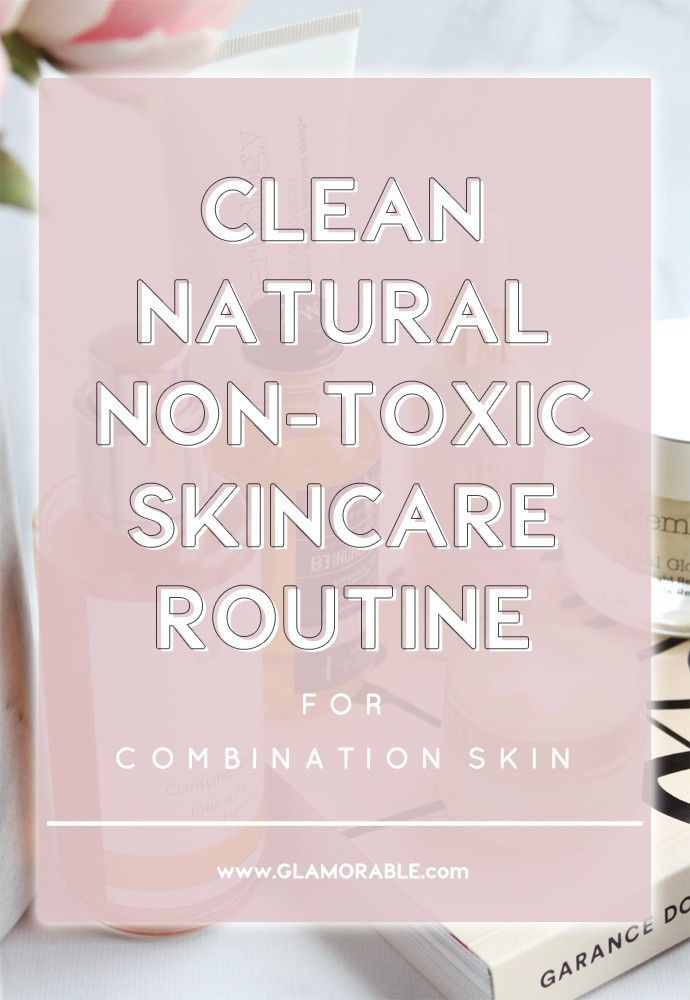 Clean, Natural, Non-Toxic Skincare Routine (Evening)