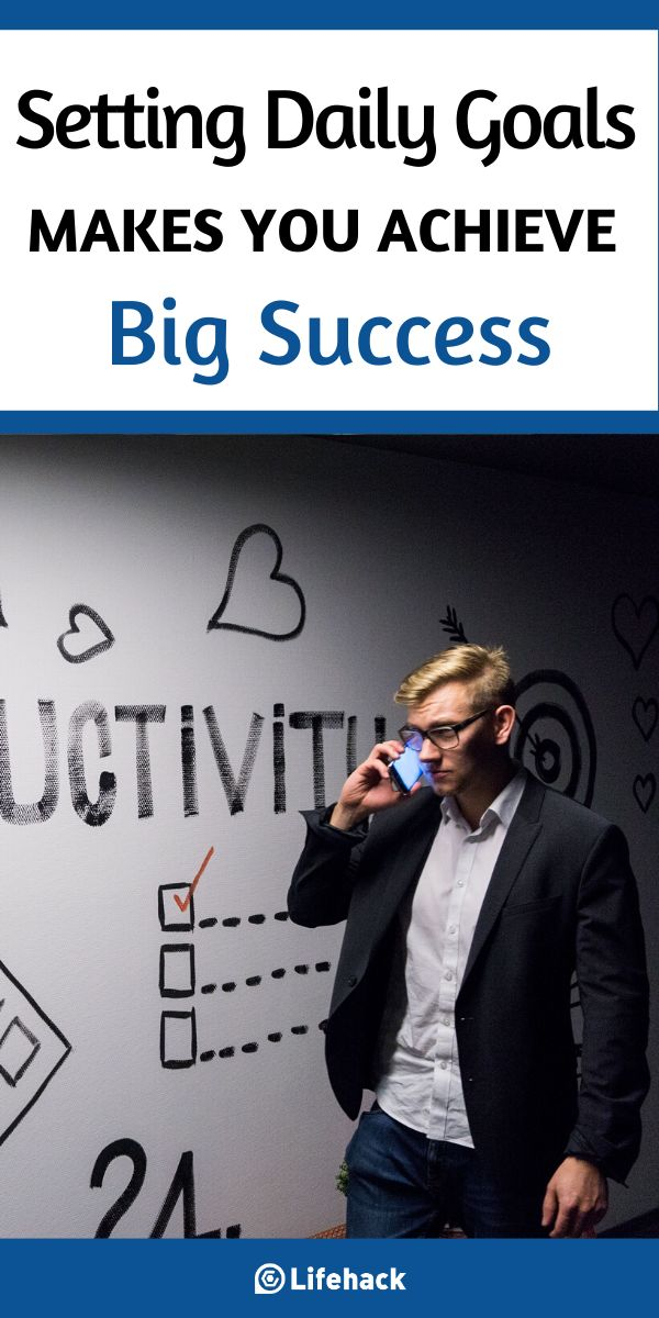 How Setting Daily Goals Makes You Achieve Big Success