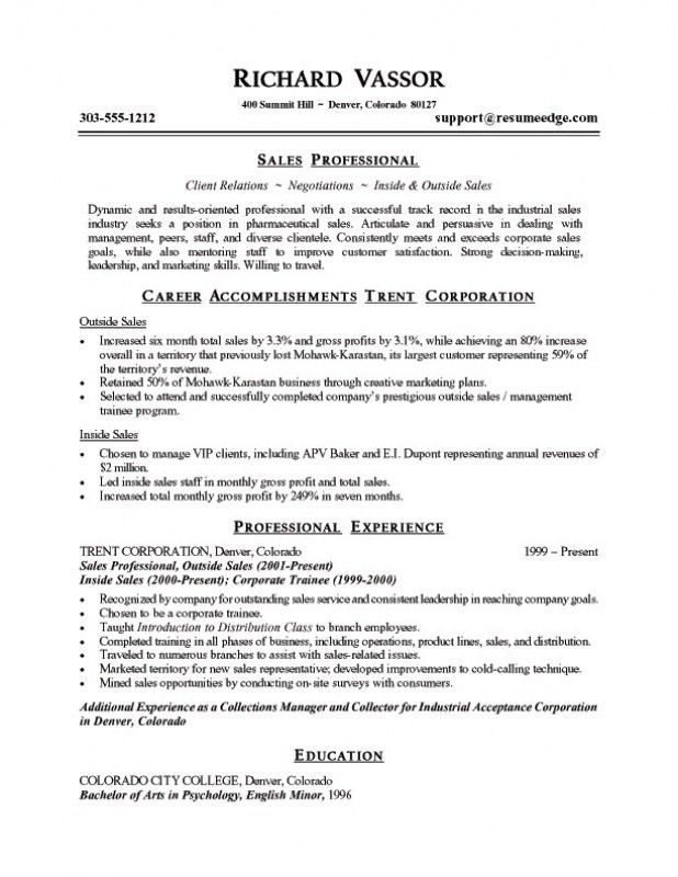 Summary Resume Sample Effective Chef Resume Template And - summary of qualifications resume examples