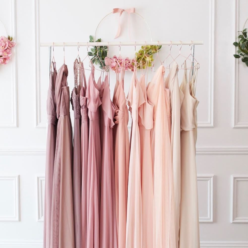 The Prettiest Bridesmaid Palettes Trending This Year ⋆ Ruffled