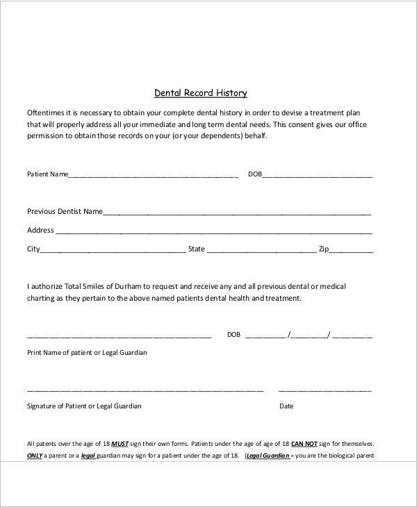 Legal Release Form Template Waiver And Release Canada Legal - dental records release form
