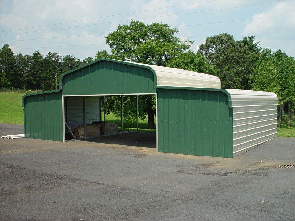 Horse Barn in Evergreen Metal barn, Steel barns, Metal