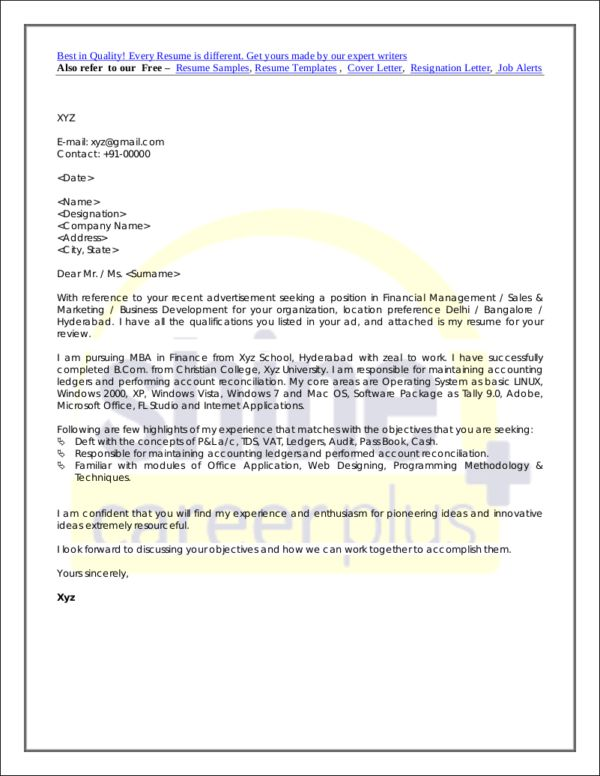 Animal Facility Manager Cover Letter Cvresumeunicloudpl