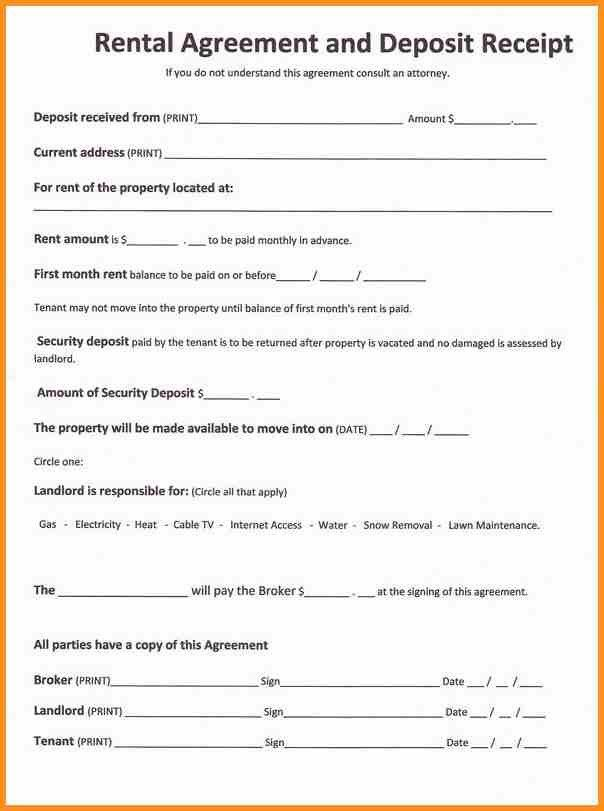 Blank Lease Agreement Free 124 Best Rental Agreement Images On - printable lease agreement sample