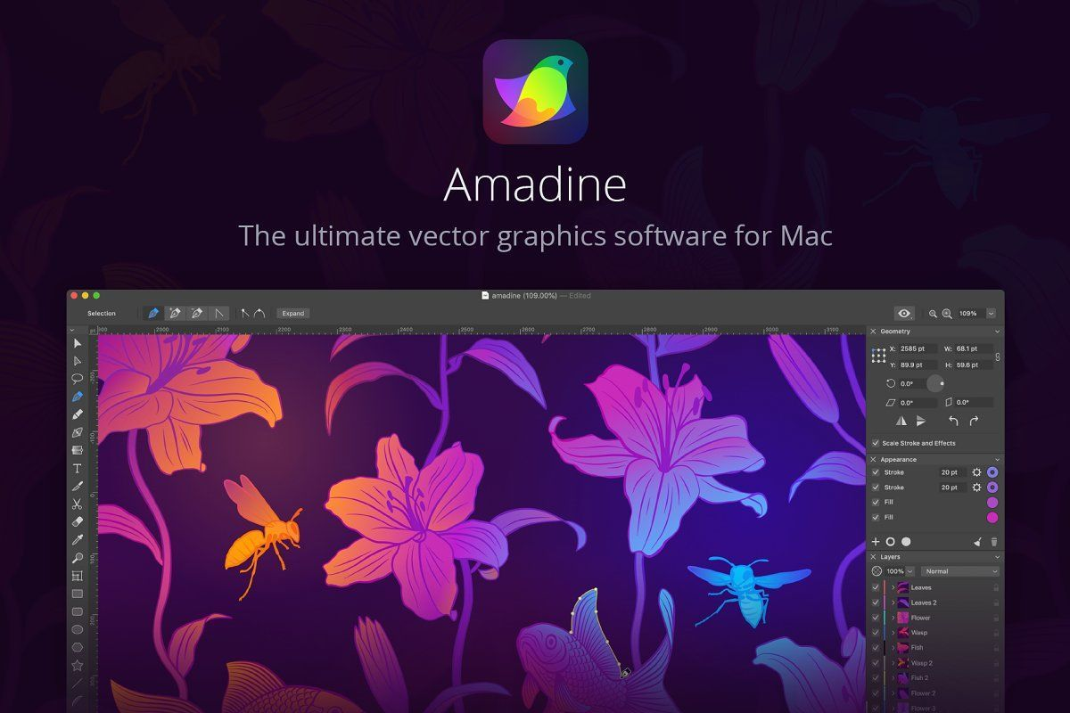 The ultimate vector drawing app for Mac!