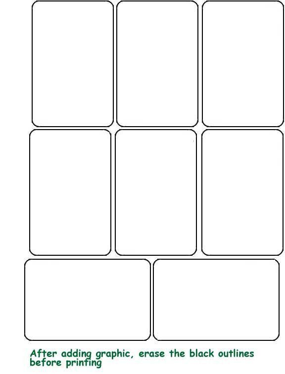 Playing Card Template Best 25 Blank Playing Cards Ideas On - blank card template