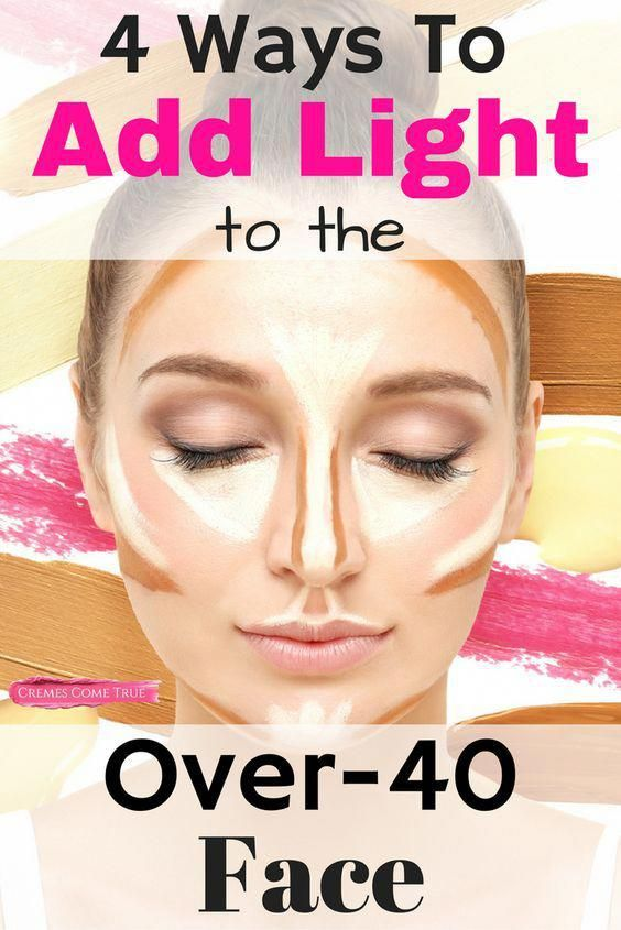 Contouring may be too much for over-40 skin – but adding LIGHT can take off years. 4 place to add light that you might not have thought of… #aginggracefullyover50