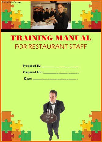 Word Training Manual Template Word Manual Template 5 Free Word - staff manual template