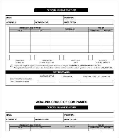 Business Forms Templates Free Business Forms And Templates For - company forms templates