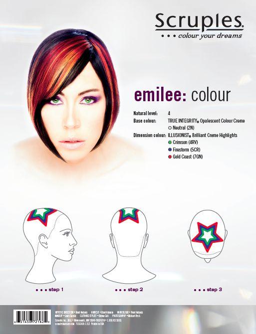 Rocker Look Foil Pattern Hair Pinterest Rockers Patterns And Coloring