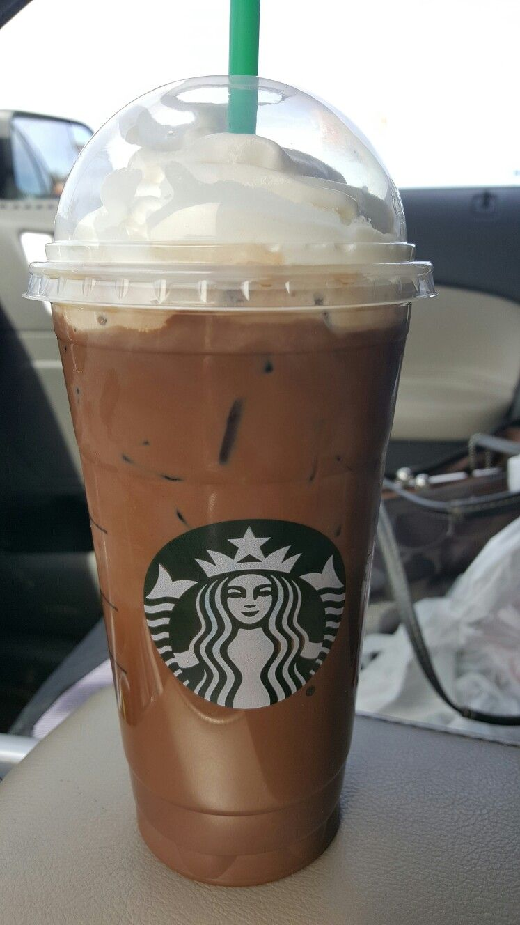 Yeah for me free Venti iced mocha!!!!! (With images
