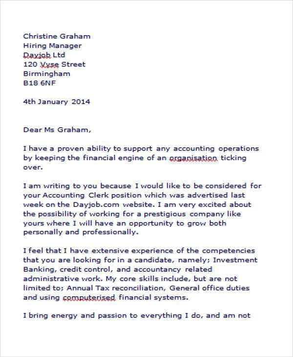 Accounting Assistant Cover Letter Accounts Assistant Cover Letter - entry level accounting cover letter