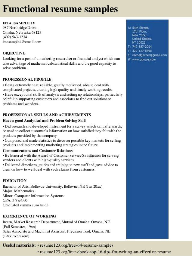 Marketing Specialist Resume Sample Click Here To Download This - employment specialist resume