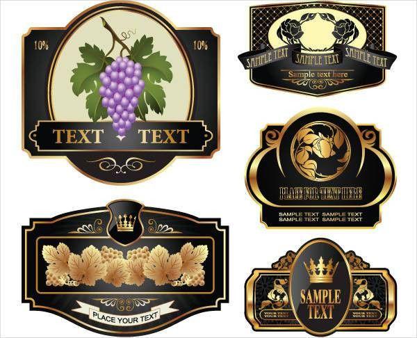 Wine Bottle Labels Template 36 Best Wine Bottle Labels Images On - free wine bottle label templates