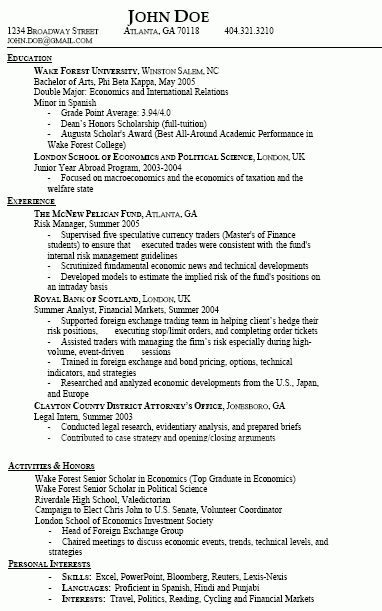 sample resume with gpa resume cv cover letter - Gpa On Resume