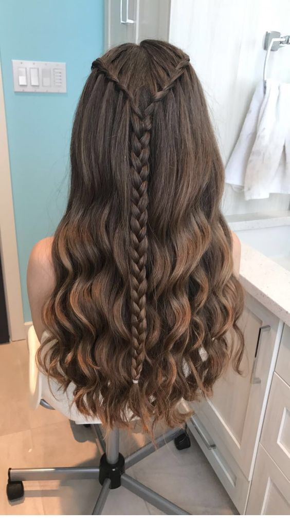 My kind of hairstyle for summer time
