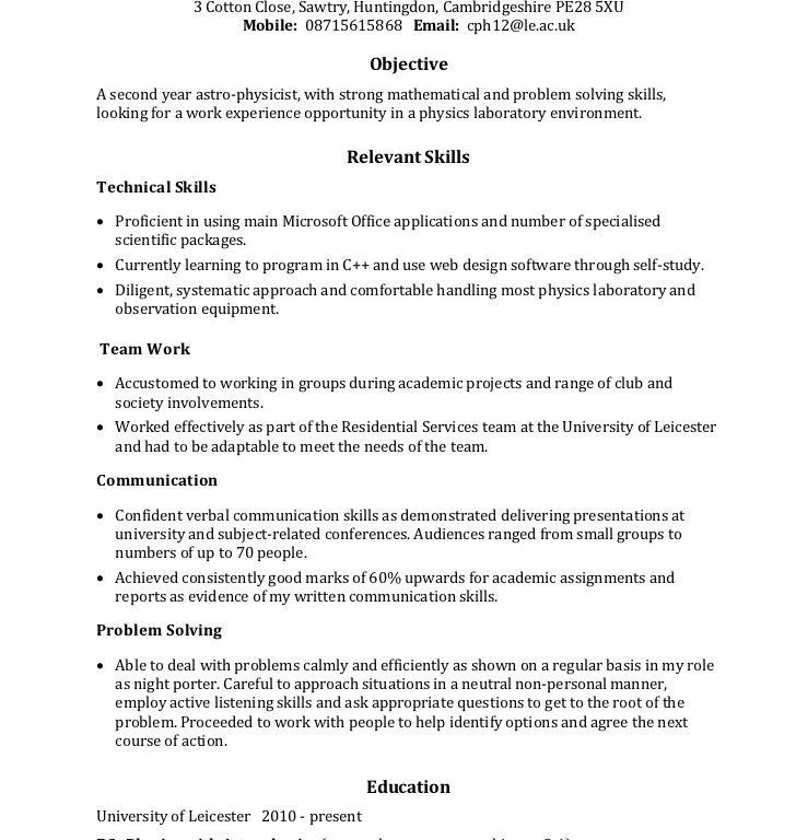Good Resume Skills Examples A Resume Example Customer Service - leadership skills resume examples