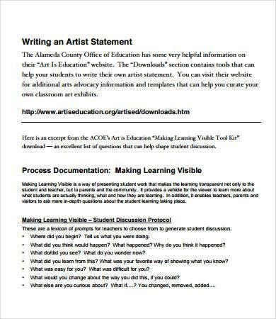 artist statement template | node2002-cvresume.paasprovider.com