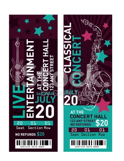 Make Your Own Concert Tickets Fake Concert Ticket Generator, 26 - print your own tickets template free