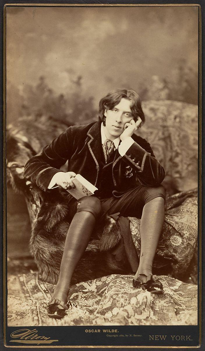 Napoleon Sarony | Oscar Wilde | The Met